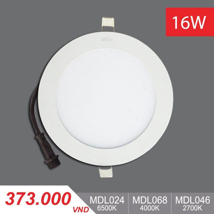 Đèn LED Panel Slim 16W Tròn - MPL024/MPL068/MPL046 - 373,000VNĐ