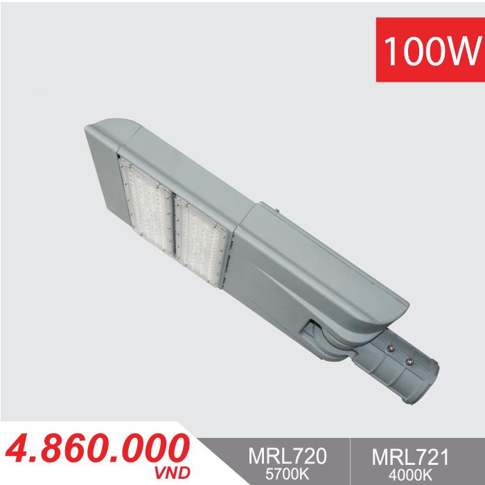 Đèn Đường LED 100W - MRL720/MRL721 - 4,860,000VNĐ