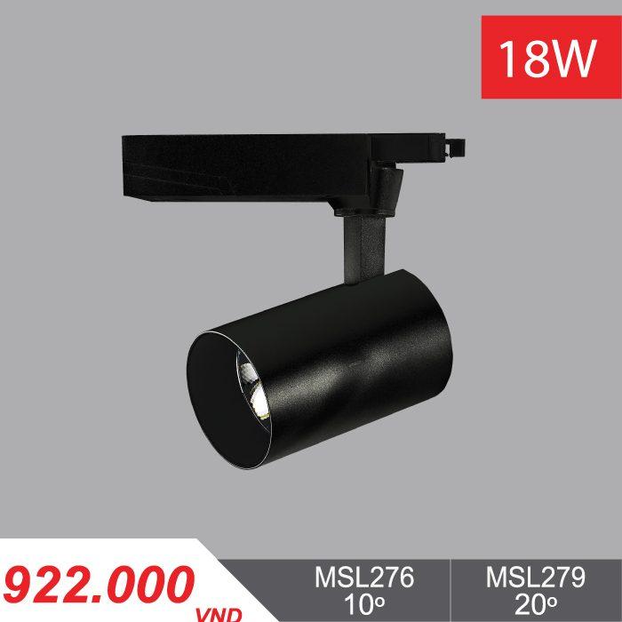 Đèn LED Chiếu Điểm 18W (Màu Đen) - MSL276/MSL279 - 922,000VNĐ