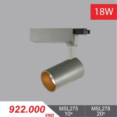 Đèn LED Chiếu Điểm 18W (Màu Xám) - MSL275/MSL278 - 922,000VNĐ