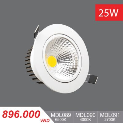 Đèn LED Downlight 25W - MDL089/MDL090/MDL091 - 896.000VNĐ