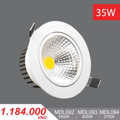 Đèn LED Downlight 35W - MDL092/MDL093/MDL094 - 1.184.000VNĐ