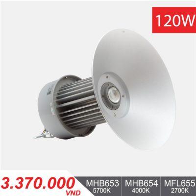 Đèn LED Nhà Xưởng 120W - MHB653/MHB654/MHB655 - 3.370.000VNĐ