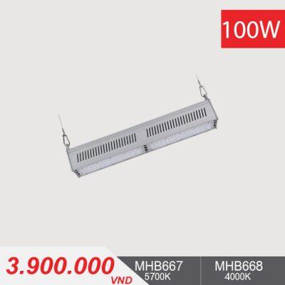 Đèn LED Nhà Xưởng - LINEAR HIGHBAY LED 100W - MHB667/MHB668