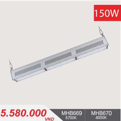 Đèn LED Nhà Xưởng - LINEAR HIGHBAY LED 150W - MHB669/MHB670