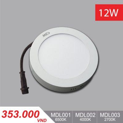 Đèn LED Ốp Trần Panel 12W - MPL001/MPL002/MPL003 - 353,000VNĐ