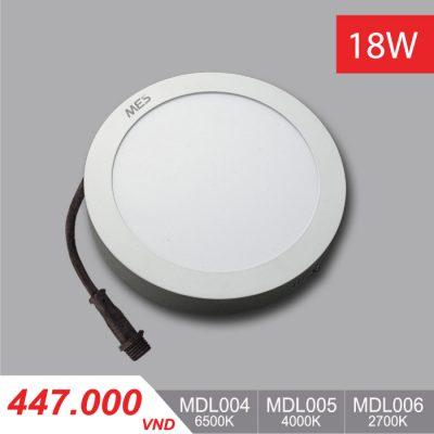 Đèn LED Ốp Trần Panel 18W - MPL004/MPL005/MPL006 - 447,000VNĐ