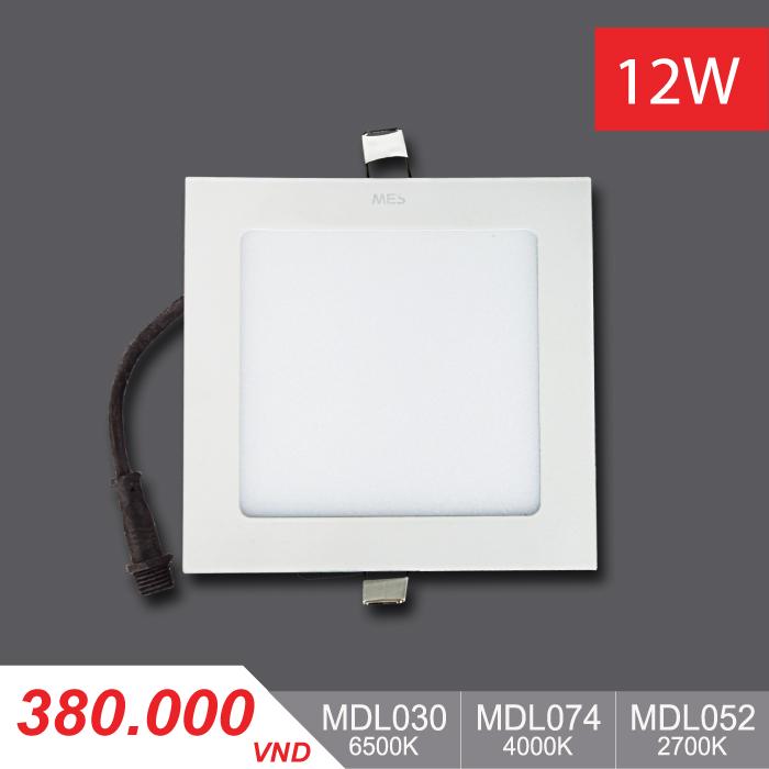 Đèn LED Panel Slim 12W Vuông - MPL030/MPL074/MPL052 - 380,000VNĐ