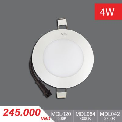 Đèn LED Panel Slim 4W Tròn - MPL020/MPL064/MPL042 - 245,000VNĐ
