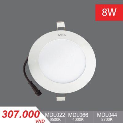 Đèn LED Panel Slim 8W Tròn - MPL022/MPL066/MPL044 - 307,000VNĐ