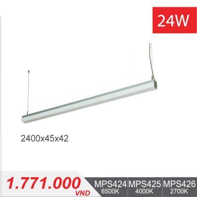 Đèn LED Thanh Treo 24W (1200x45x42) - MPS424/MPS425/MPS426