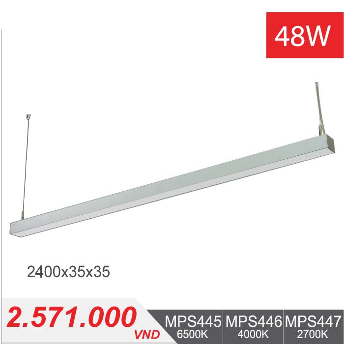 Đèn LED Thanh Treo 48W (2400x35x35) - MPS445/MPS446/MPS447