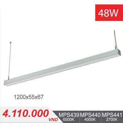 Đèn LED Thanh Treo 48W (2400x55x75) - MPS439/MPS440/MPS441