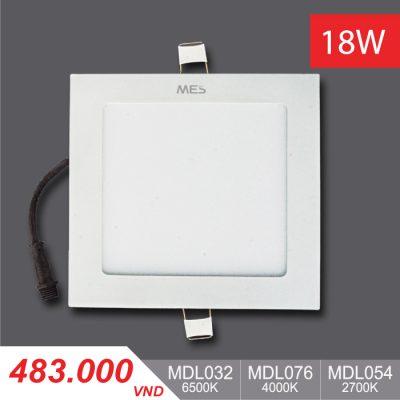 Đèn Slim Panel 18W Vuông - MPL032/MPL076/MPL054