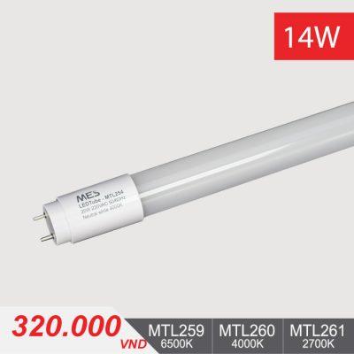 Đèn Tuýp LED T8 14W/1m2 - MTL259/MTL260/MTL261 - 320.000VNĐ