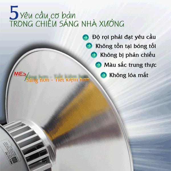 5 Yếu tố cơ bản trong tính toán chiếu sáng đèn nhà xưởng