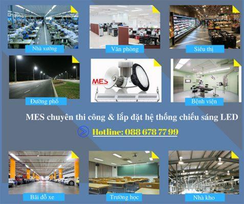 Đèn LED nhà xưởng MES