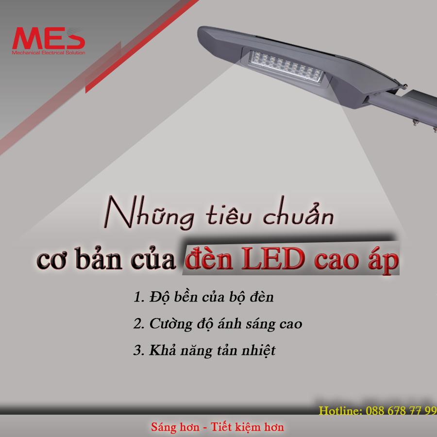 Những tiêu chuẩn cơ bản của đèn LED