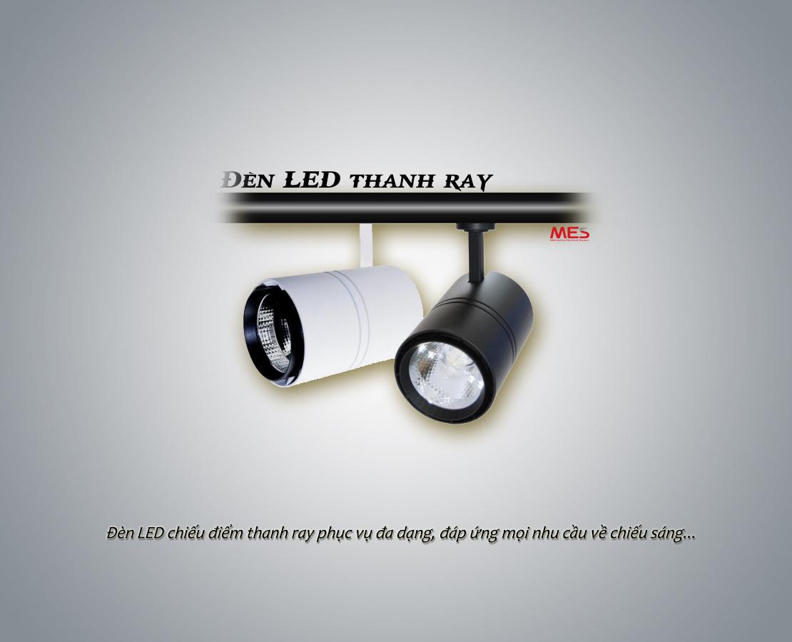Đèn LED thanh rọi ray