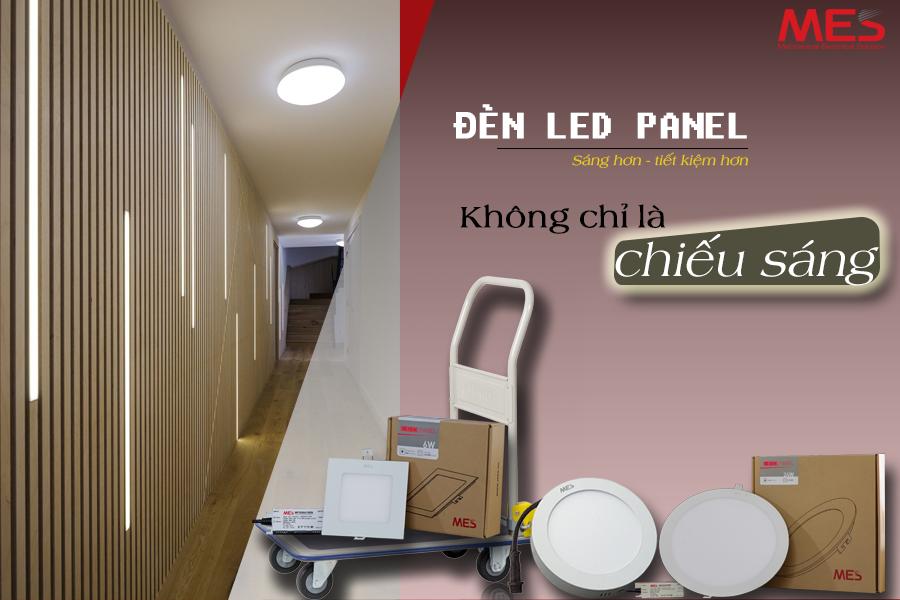 Đèn Panel không chỉ là chiếu sáng