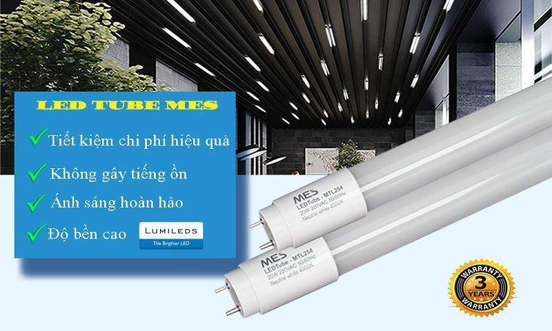 Đèn tuýp LED ứng dụng đa dạng
