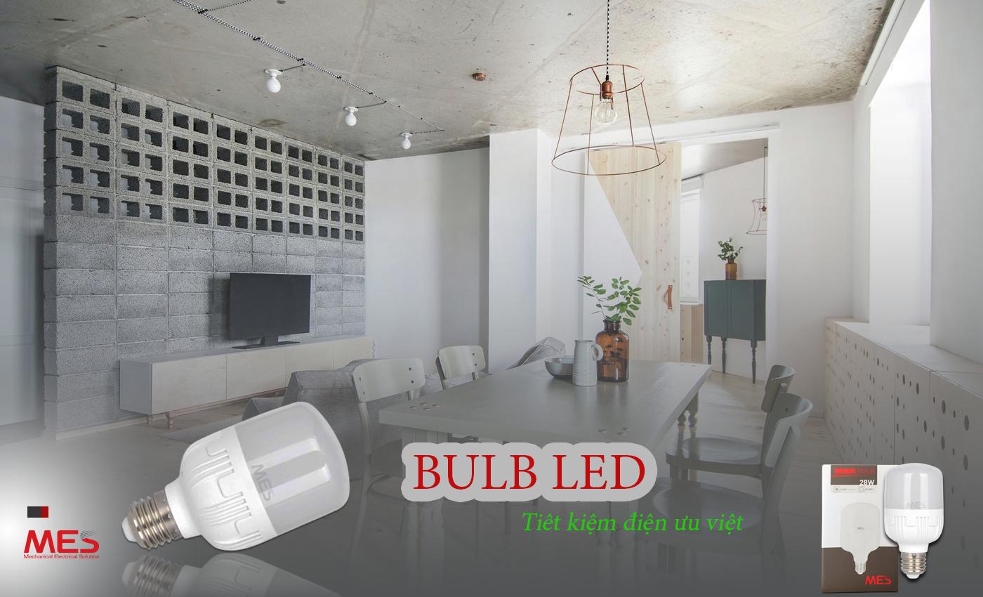 Đèn bulb LED ứng dụng đa dạng