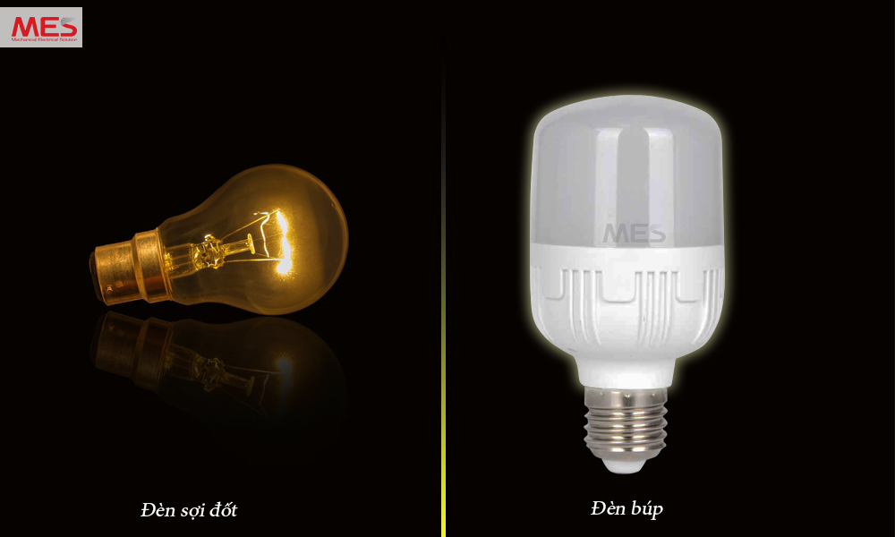 Đèn bulb và đèn sợi đốt