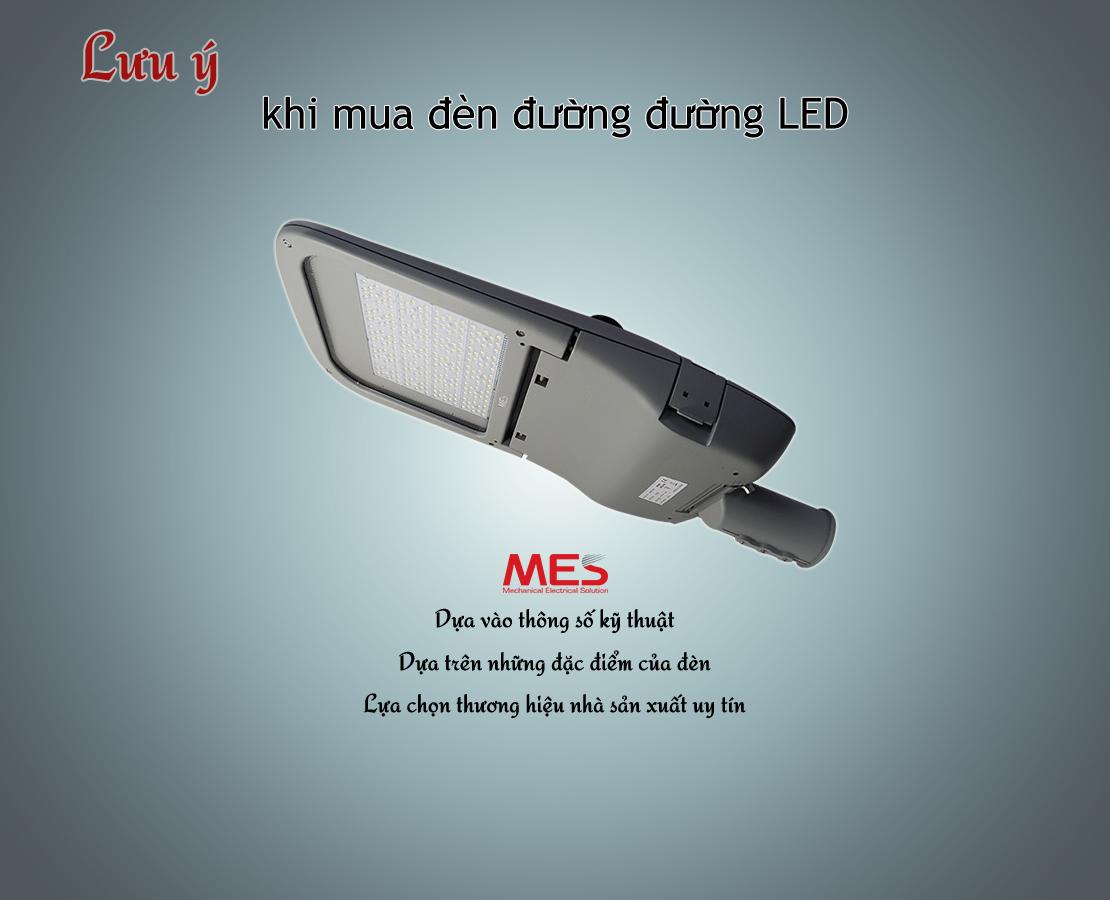 Lưu ý khi mua đèn đường LED