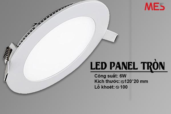 Kích thước đèn led âm trần MES